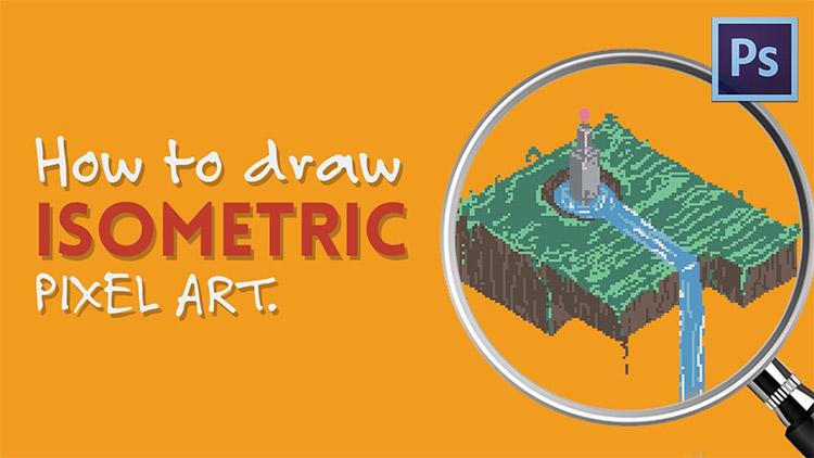 How To Draw Mushroom Pixel Art