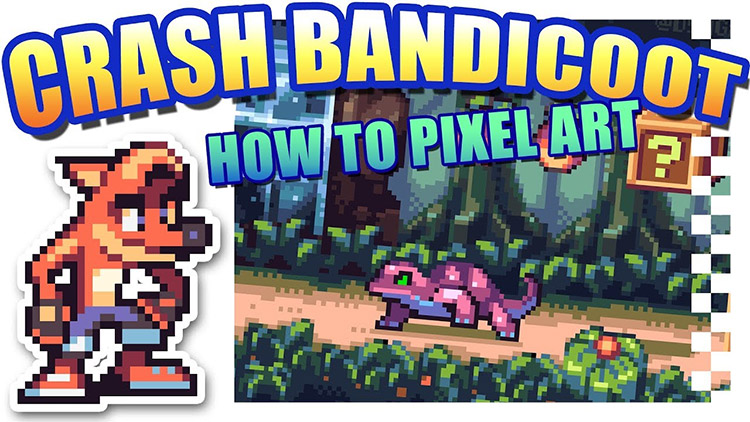 How To Make Pixel Art 40 Free Video Tutorials For Beginners