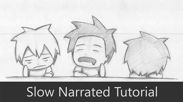 50 Free Chibi Art Drawing Tutorials For All Skill Levels