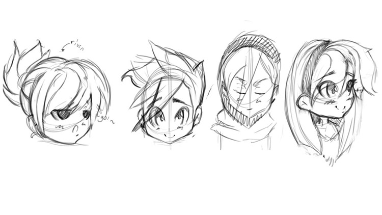 Another Area You Should Focus On Is The Head Typically Most Chibi Characters Have Larger Heads With Odd Proportions