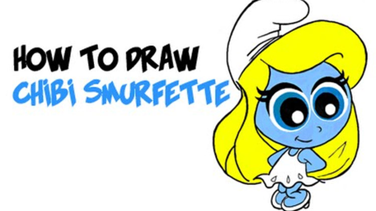 Out Of All The Little Blue Smurfs In Village I Think We Can Agree Smurfette Is Cutest