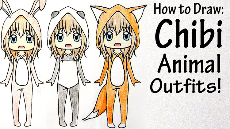 Chibis Wearing Animal Outfits