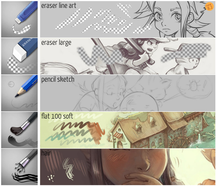 15+ Free Krita Brushes & Brush Packs For Digital Artists