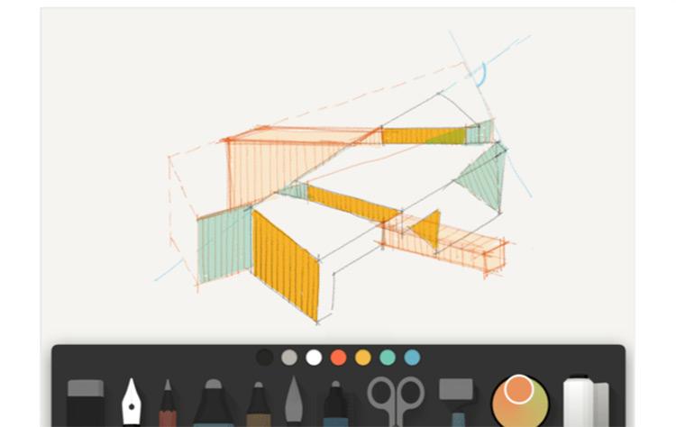Paper mobile app