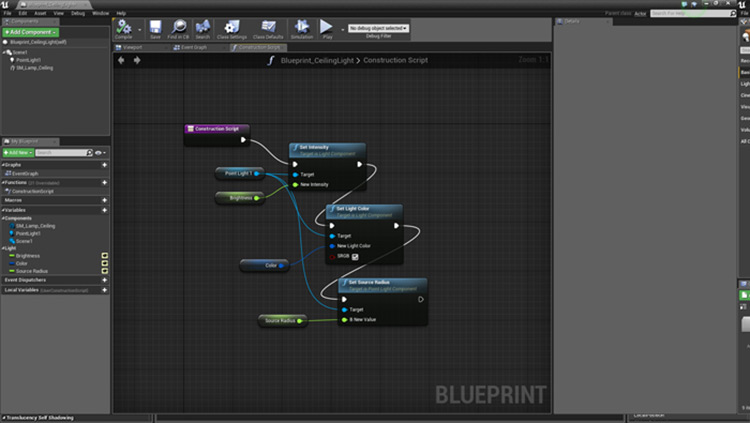 Blueprint sample from UE4