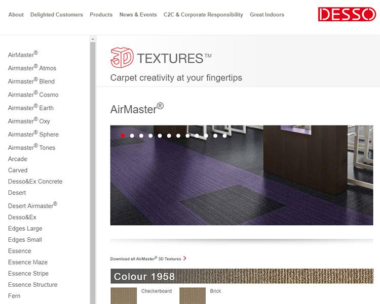 Desso 3d textures page