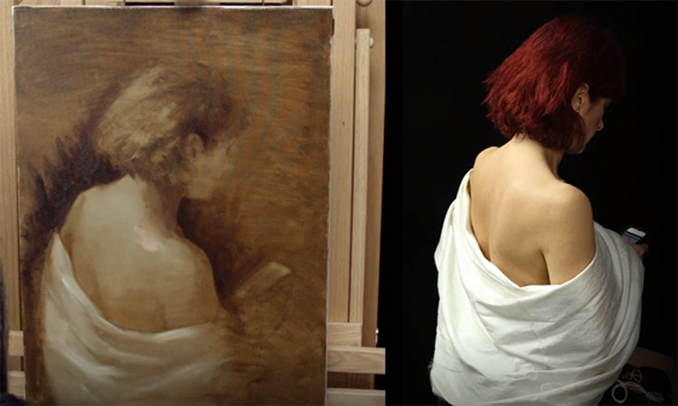 Oil painting detailed course from NewMastersAcademy