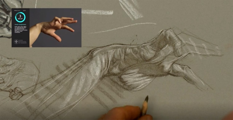 Hand drawing lesson on NMA