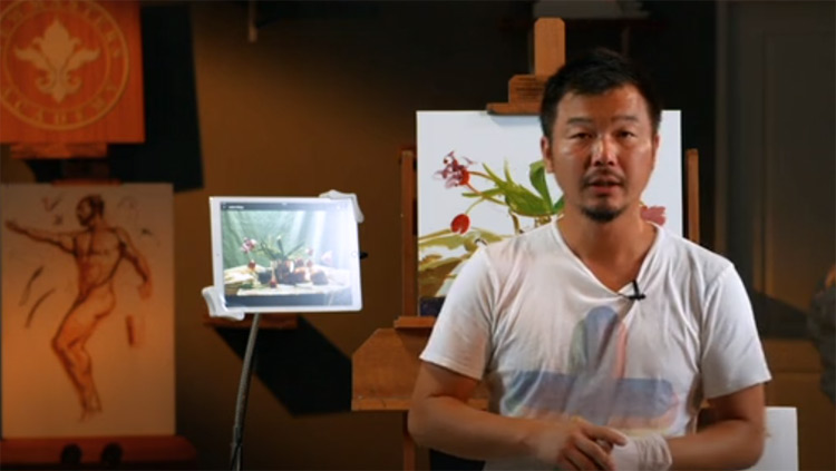 Oil painting instruction preview NMA course