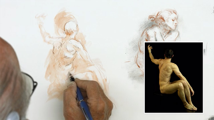 Vilppu figure drawing course for NMA