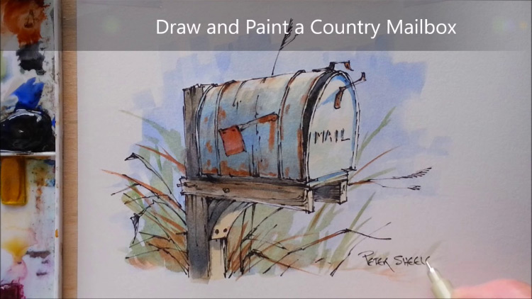 40 Free Watercolor Painting Video Tutorials For Beginners
