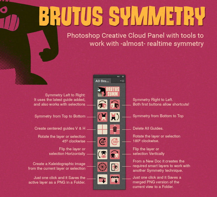 Brutus Symmetry plugin
