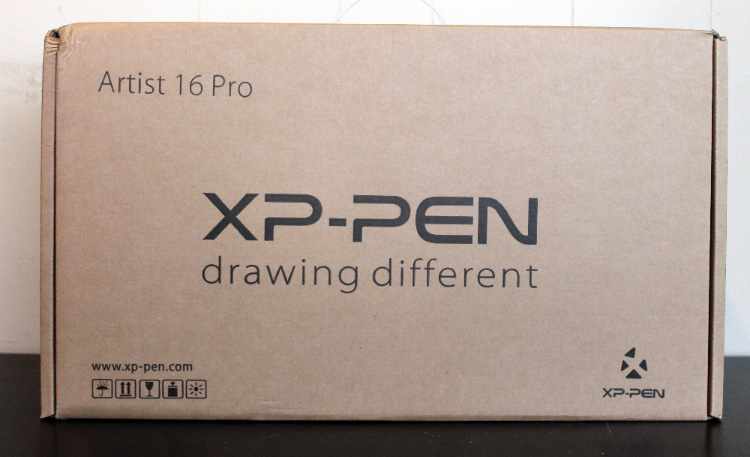 XP-Pen Artist16 tablet box