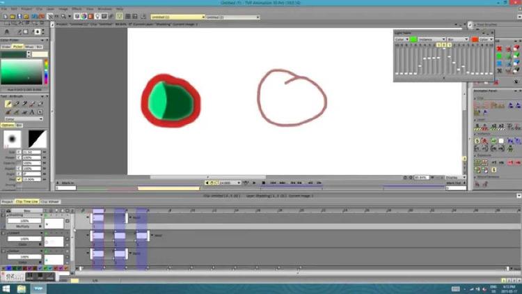 TVPaint tutorial Sarah Goran