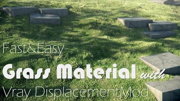 vray grass materials