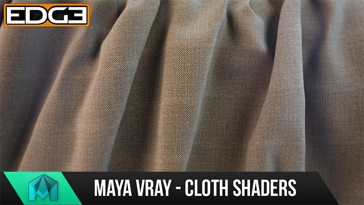 Maya cloth shaders