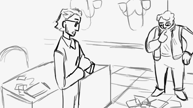 Animatic example preview screenshot