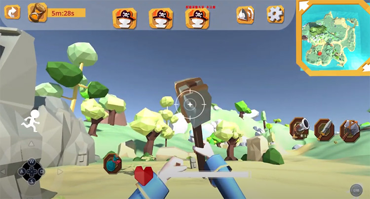 Low Poly game tutorial screenshot preview