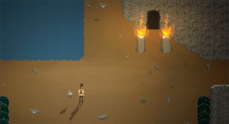 Dungeon shaders environment game screenshot