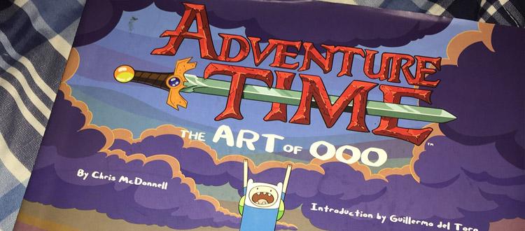 adventure time artbook