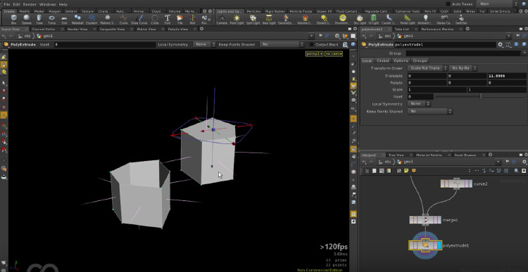 Houdini software preview