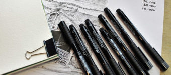 Best Art Pens For Drawing And Inking