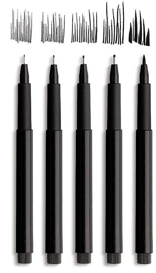 Faber-Castell Pitt art pens