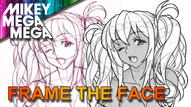 Anime Manga Girl Face