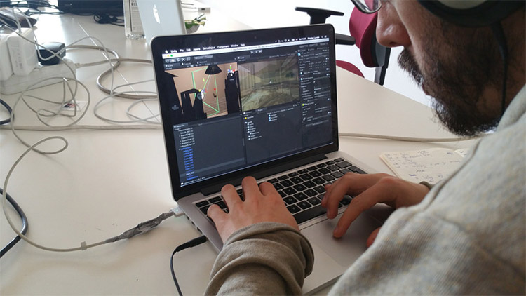 Game designer/developer working in Unity