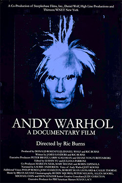 Andy Warhol doc cover