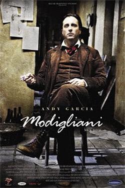 Modigliani movie cover
