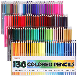 Colored pencilset by ShuttleArt