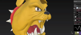 Dog Brutus in Substance Painter