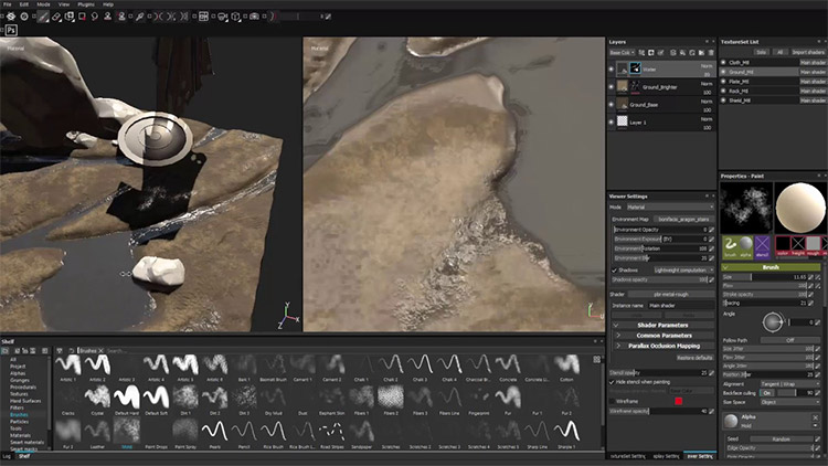 Substance Painter Techniques