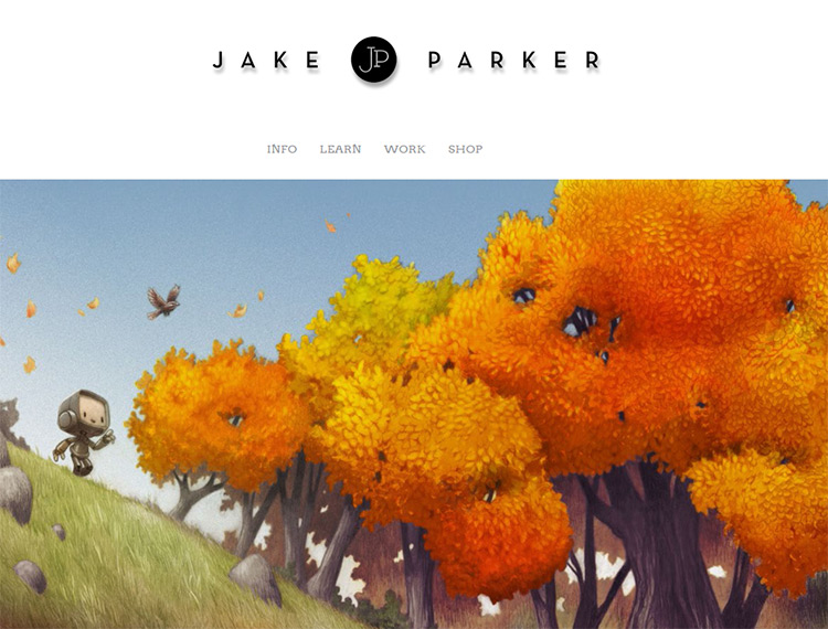 jake parker illustrator website