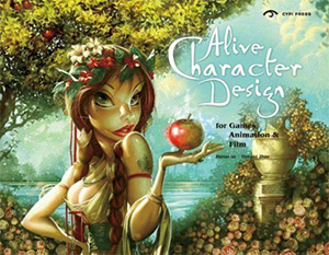alive character design book cover