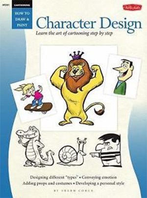 sherm cohen cartooning book cover