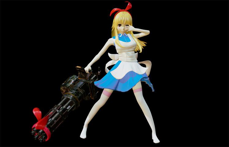 Alice in Wonderland anime style