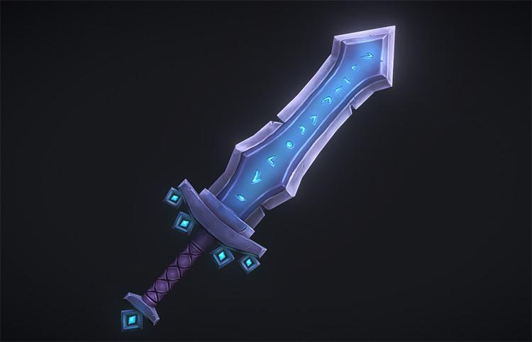 Great rune sword 3d model