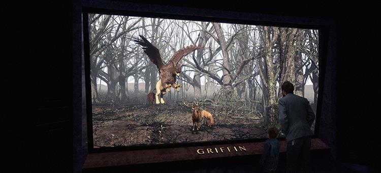 Anya Animal Museum Exhibit, Concept Design Piece