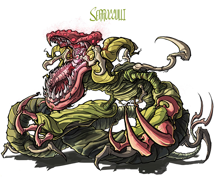 serrocculli man eater plant