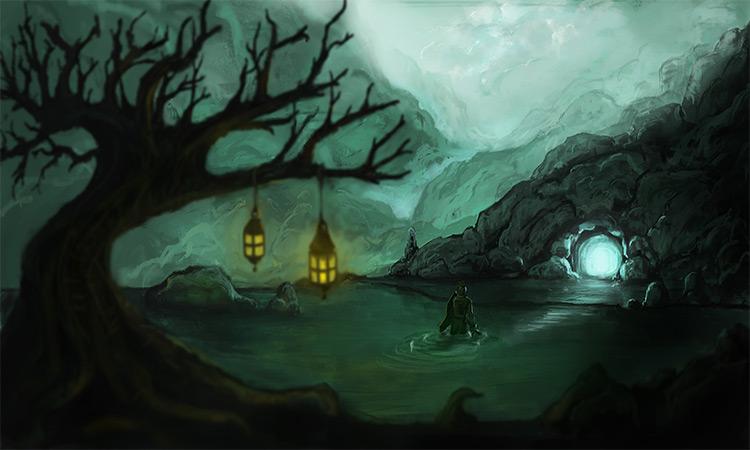 secret creature in the swamp