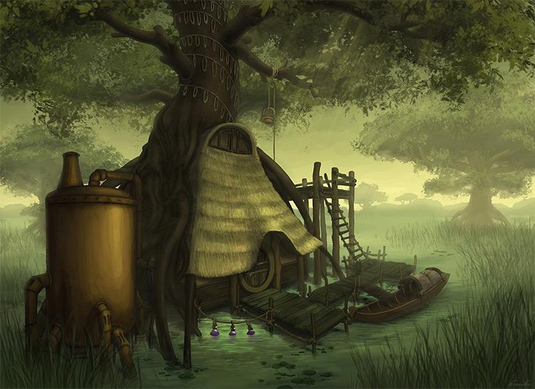 distillery in the swamp