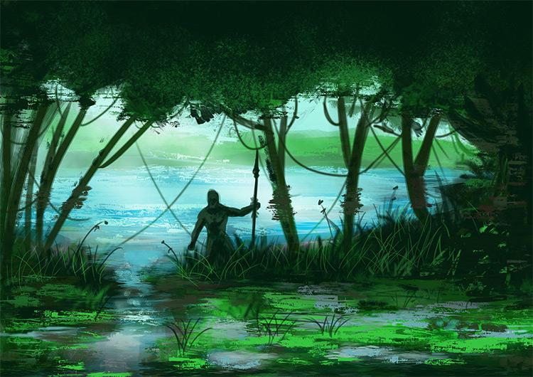 swamp speed paint environment