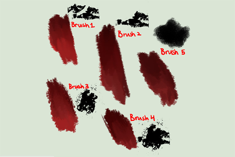 Painter style brushes