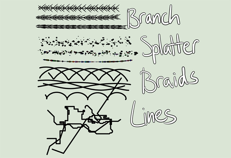 Configurable Brush Scripts