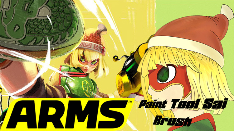 Nintendo ARMS brushes for SAI