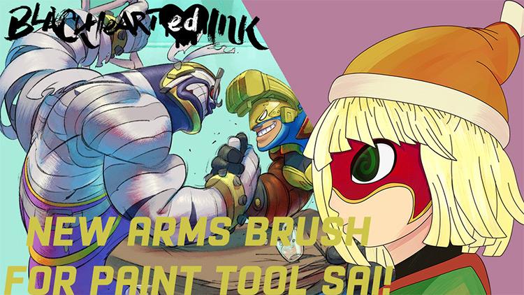 Nintendo ARMs Brushpack