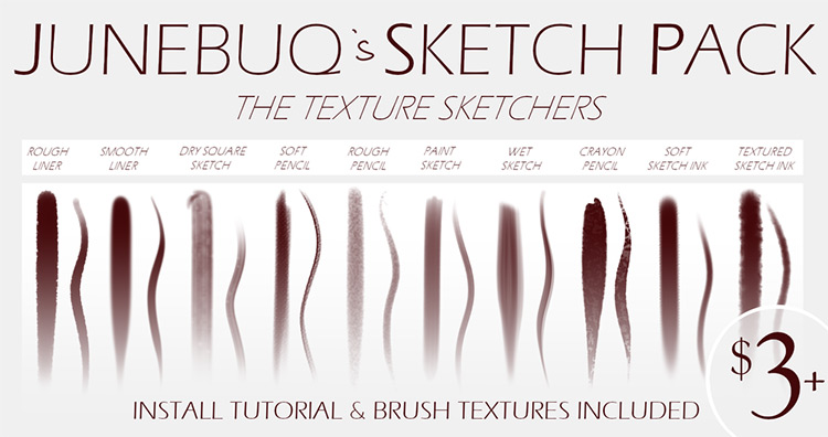 Sketchers brush pack for SAI