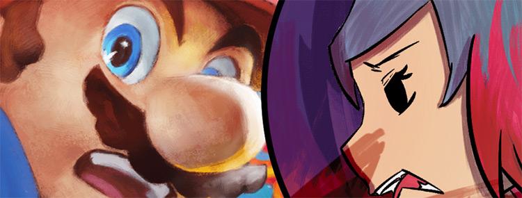 Super Smash Bros Ultimate Brush Pack for SAI
